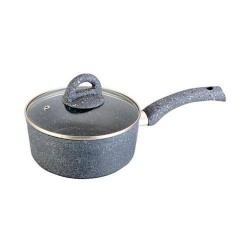 Granite 18cm Sauce Pan with lid Wonderchef