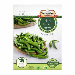 Green Chilli Frozen 300g