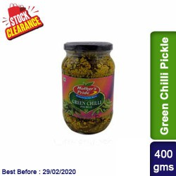 Green Chilli Pickle Clearance Sale