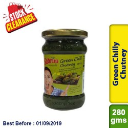 Green Chilly Chutney 280g Clearance Sale