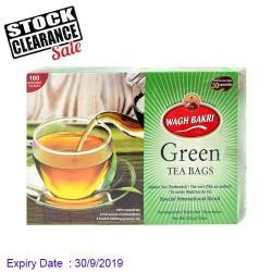 Green Tea Wagh Bakri - Clearance Sale