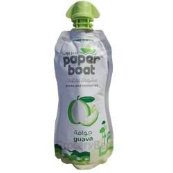 Guava Juice Paper Boat