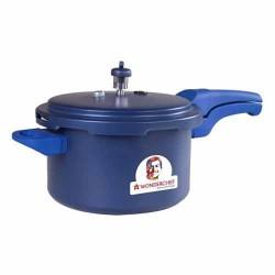 HealthGuard Pressure Cooker 5 ltr Blue Wonderchef