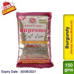 Henna Burgandy Herbal Henna Mehandi Clearance Sale
