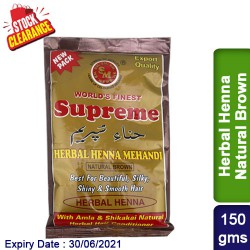 Henna Natural Brown Clearance Sale