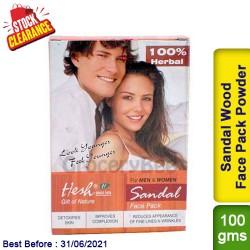 Hesh Sandal Wood Face Pack Powder Clearance Sale