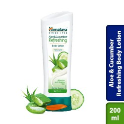 Himalaya Aloe & Cucumber Refreshing Body Lotion 200ml