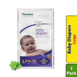 Himalaya Baby Diapers Large - 54s - 8 to 14 kg