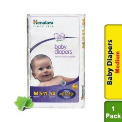 Himalaya Baby Diapers Medium - 54s - 5 to 11 kg