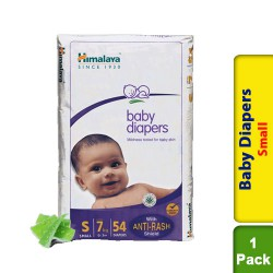 Himalaya Baby Diapers Small - 54s - Upto 7 kg