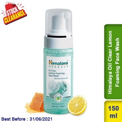 Himalaya Oil Clear Lemon Foaming Face Wash Clearance Sale