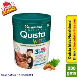 Himalaya Quista kidz Nutritional Drink Chocolate Flavour 200g Clearance Sale