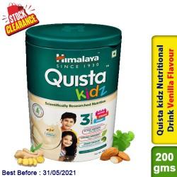 Himalaya Quista kidz Nutritional Drink Vanilla Flavour 200g Clearance Sale