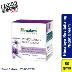 Himalaya Revitalizing Night Cream Clearance Sale