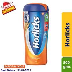 Horlicks Classic Malt 500g Clearance Sale