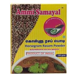 Horsegram Rasam Powder Kollu Kulthi Ulavalu