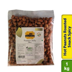 Hot Peanuts Roasted Snack Spicy