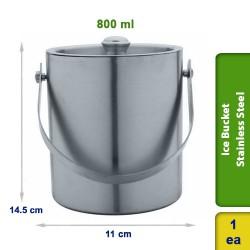 Ice Bucket Stainless Steel 800ml
