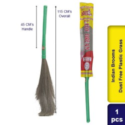 Indian Brooms Dust Free Plastic Grass