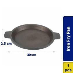 Iron Frypan Flat Base