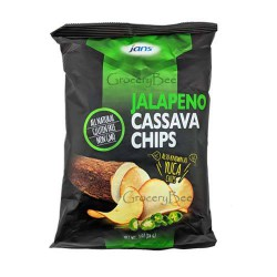 Jalapeno Cassava Chips