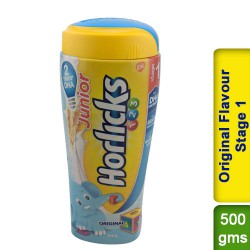 Junior Horlicks Original Flavour Stage 1  Health and Nutrition drink