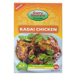 Kadai Chicken Masala Powder Curry Masters