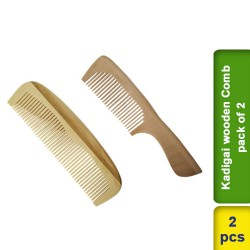 Kadigai wooden Comb pack of 2