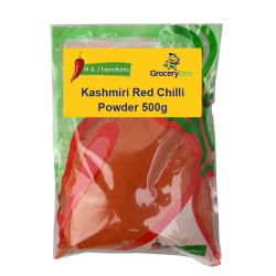 Kashmiri Red Chilli Powder 500g M&J