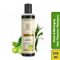 Khadi Natural Amla & Bhringraj Hair Cleanser Shampoo 210ml