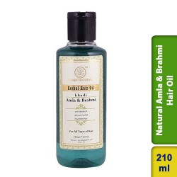Khadi Natural Amla & Brahmi Hair Oil 210ml