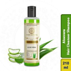 Khadi Natural Herbal Aloevera Hair Cleanser Shampoo 210ml