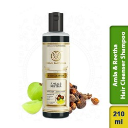 Khadi Natural Herbal Amla & Reetha Hair Cleanser Shampoo 210ml