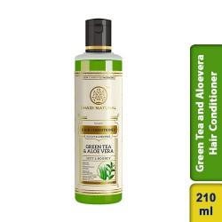 Khadi Natural Herbal Green Tea Hair Conditioner 210ml