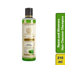 Khadi Natural Herbal Neem Hair Cleanser Shampoo 210ml