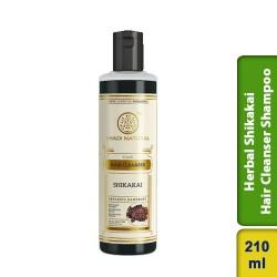 Khadi Natural Herbal Shikakai Hair Cleanser Shampoo 210ml