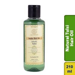 Khadi Natural Tulsi Hair Oil 210ml