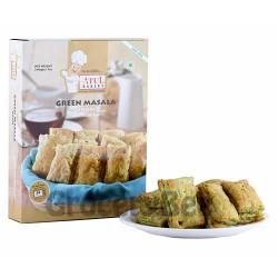 Khari Green Masala Pastry Puffs