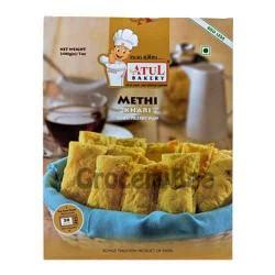 Khari Methi Pastry Puffs
