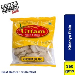 Khichya Plain 350g Clearance Sale