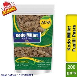 Kodo Millet Fusilli Pasta / Kodra Varagu Arikelu Clearance Sale