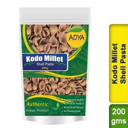 Kodo Millet Shell Pasta / Kodra Varagu Arikelu