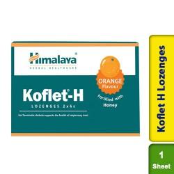 Koflet H Lozenges Orange Flavour Himalaya