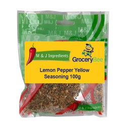 Lemon Pepper Yellow Seasoning 100g