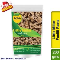 Little Millet Fusilli Pasta / Kutki Samai Sama Clearance Sale