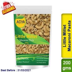 Little Millet Macaroni Pasta / Kutki Samai Sama Clearance Sale