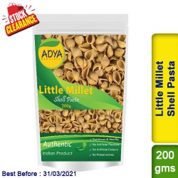 Little Millet Shell Pasta / Kutki Samai Sama Clearance Sale