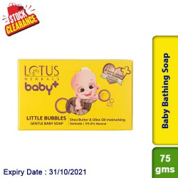 Lotus BABY LITTLE Bubbles Gentle Bathing Soap Clearance Sale