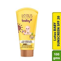 Lotus BABY SUNSCREEN SPF-20 100g