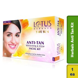 Lotus Herbals Anti Tan Kit